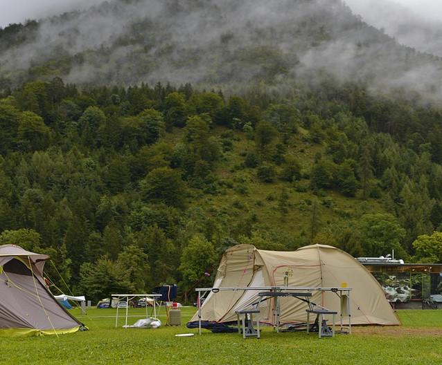 Le camping d'hiver peut être très amusant !